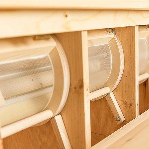 Bild 4 zu Artikel Getreidemühle Osttiroler COMBI mit angebauter Siebmaschine